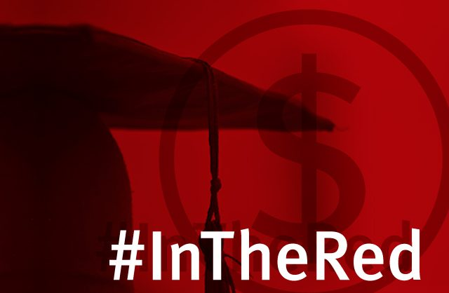Are You #InTheRed With Student Debt?